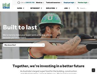 cbussuper.com.au screenshot