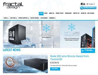 fractal-design.com screenshot