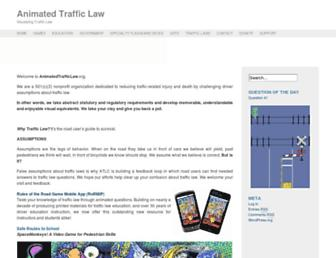 animatedtrafficlaw.org screenshot