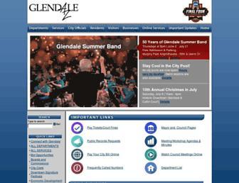 glendaleaz.com screenshot