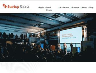 Thumbshot of Startupsauna.com