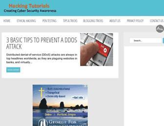 onlinehackingtutorials.blogspot.com screenshot