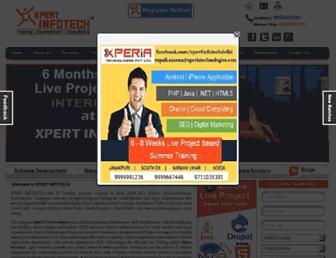 Thumbshot of Xpert-infotech.com