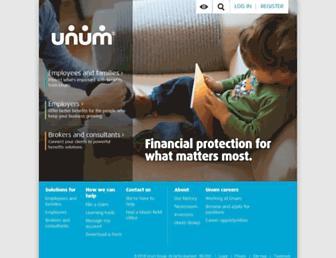 Thumbshot of Unum.com