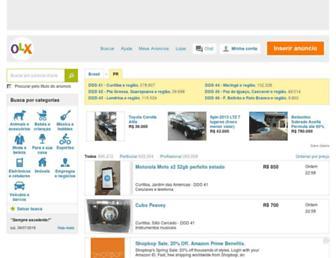 pr.olx.com.br screenshot