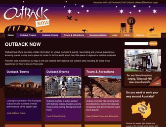 Thumbshot of Outbacknow.com.au