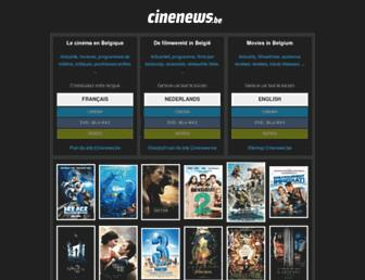 cinenews.be screenshot