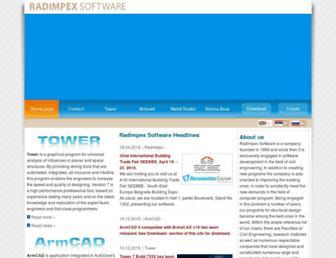 radimpex.co.rs screenshot