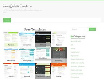Thumbshot of Myfreetemplatehome.com