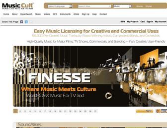 Thumbshot of Musiccult.com