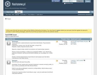 flashzone.pl screenshot