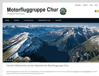Main page screenshot of mfgc.ch