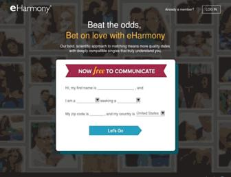 Thumbshot of Eharmony.com