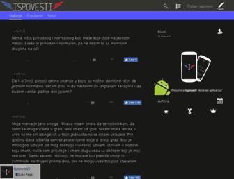 Thumbshot of Ispovesti.com