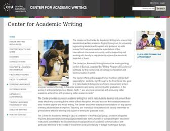 caw.ceu.edu screenshot