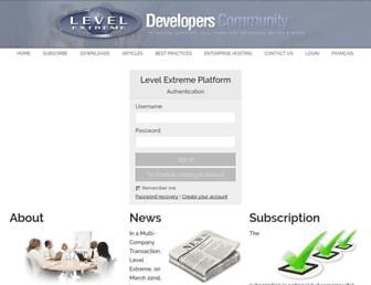 levelextreme.com screenshot