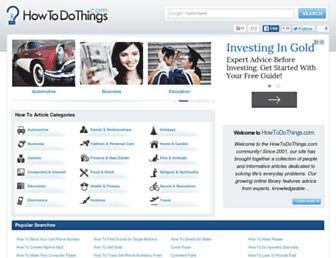 Thumbshot of Howtodothings.com