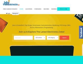 jobs.electronicsforu.com screenshot