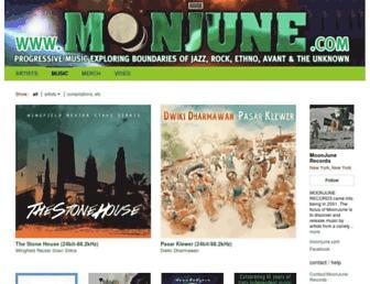 moonjunerecords.bandcamp.com screenshot