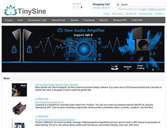 tinyosshop.com screenshot