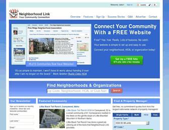 Thumbshot of Neighborhoodlink.com