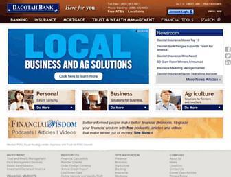 dacotahbank.com screenshot