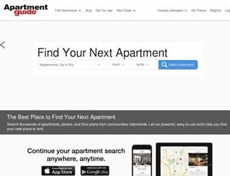 Thumbshot of Apartmentguide.com