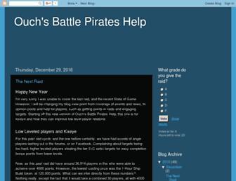 ouchbattlepirates.blogspot.com screenshot