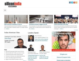 siliconindia.com screenshot