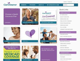 caresource.com screenshot