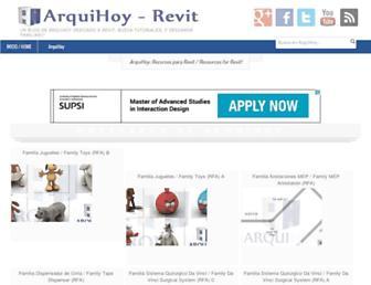 arquihoy-revit.blogspot.com screenshot