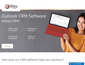 eway-crm.com screenshot