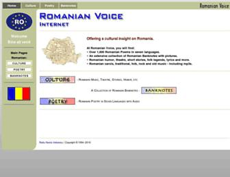 Thumbshot of Romanianvoice.com