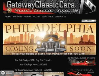 Thumbshot of Gatewayclassiccars.com