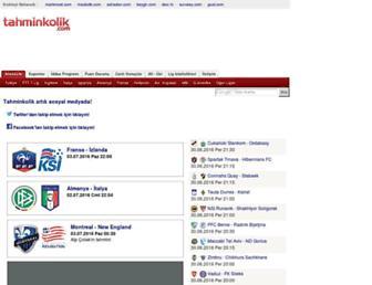 tahminkolik.com screenshot