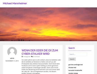 Thumbshot of Michael-mannheimer.info