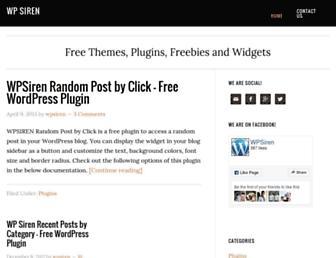 Thumbshot of Wpsiren.com