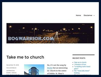 bogwarrior.com screenshot
