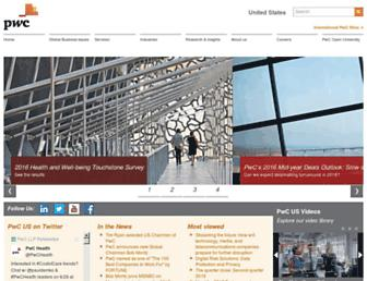Thumbshot of Pwc.com