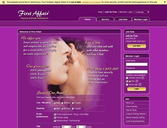 Thumbshot of Firstaffair.com