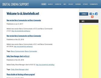 dc.kinotehnik.net screenshot