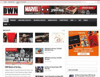 Thumbshot of Dailywrestlingnews.com