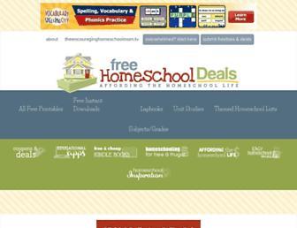 Thumbshot of Freehomeschooldeals.com