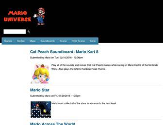 mariouniverse.com screenshot