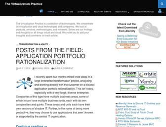 virtualizationpractice.com screenshot