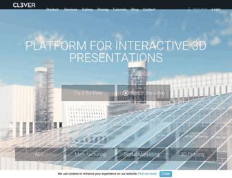 cl3ver.com screenshot