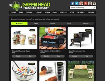 Thumbshot of Thegreenhead.com