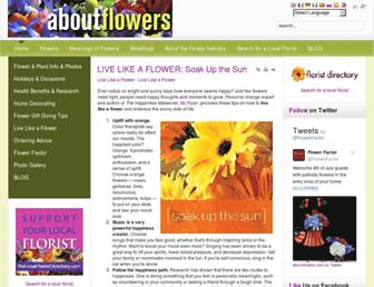 Thumbshot of Aboutflowers.com