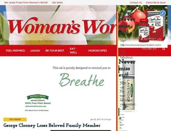 womansworld.com screenshot