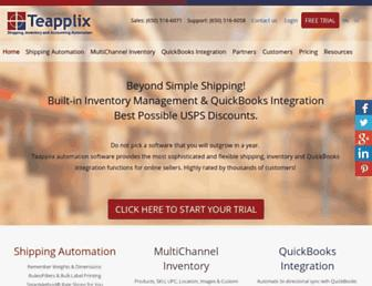 Thumbshot of Teapplix.com